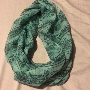 Tribal print infinity scarf!